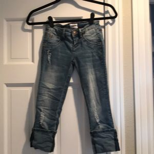 Hudson Crop Jeans - Size 8
